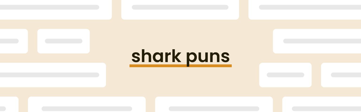 shark puns