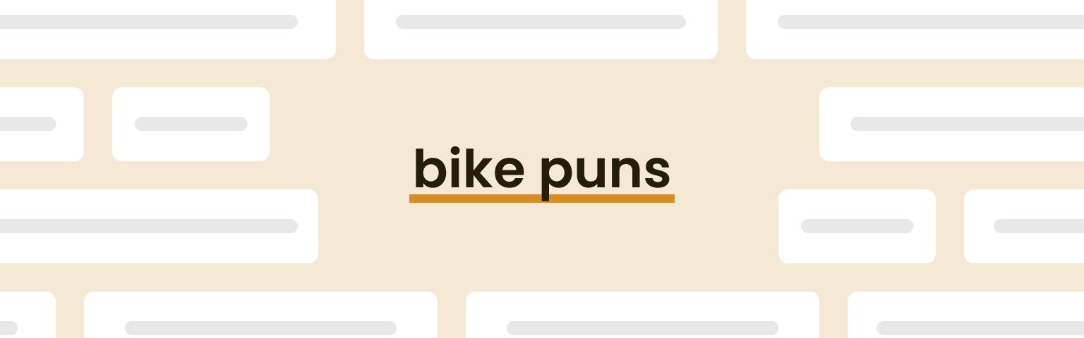 bike puns